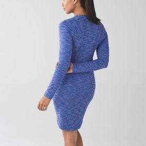 Lululemon &go Where-To Dress Heathered Blue 2